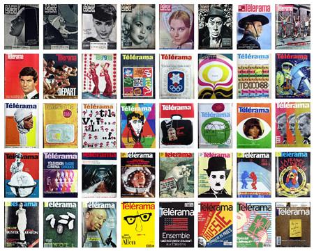 60 ans de couvertures de telerama