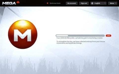 Le nouveau logo de MEGA