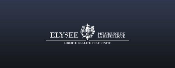 Le nouveau logo du Palais de l'Elysée