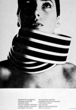 Graphic design poster / black & white