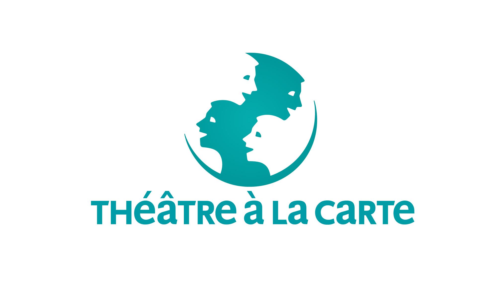 identité visuelle theatre a la carte logotype