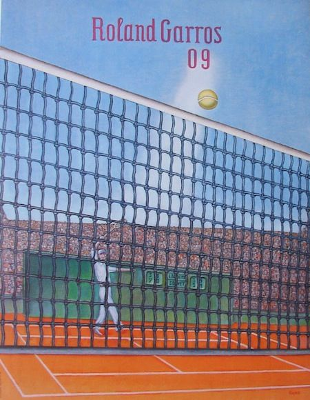 Roland Garros 2009 par Klapheck