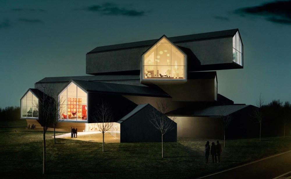 vitra-haus-by-night