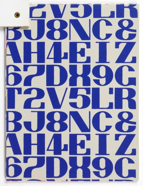 Sample Book, Wallpapers Designed by Alexander Girard for Herman Miller, 1953