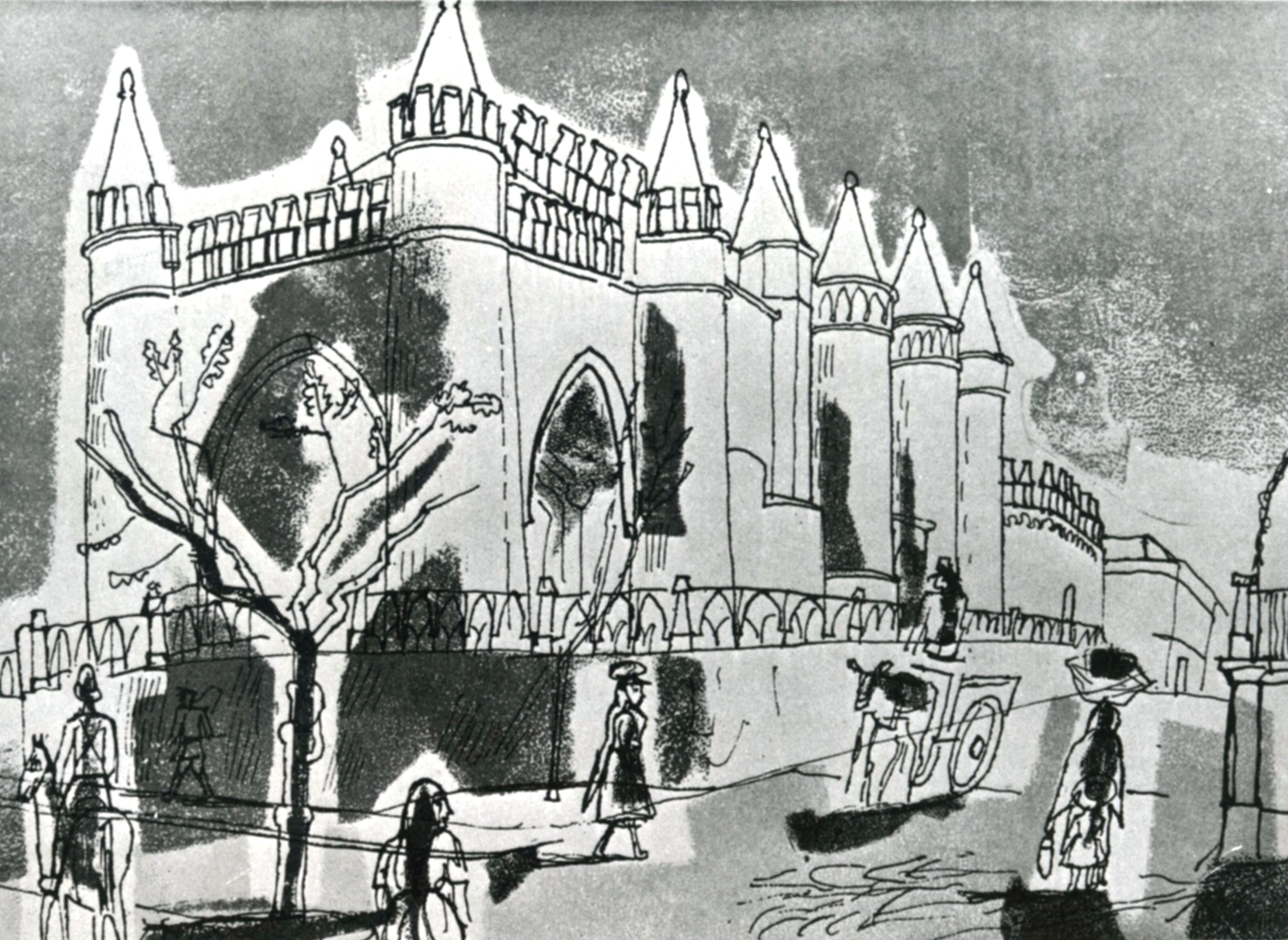 edward_bawden-graphic-designer-drawing-castle