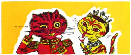 edward_bawden-graphic-designer-tipsy-cats