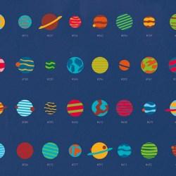 affiches d'astronomie l'espace s'affiche