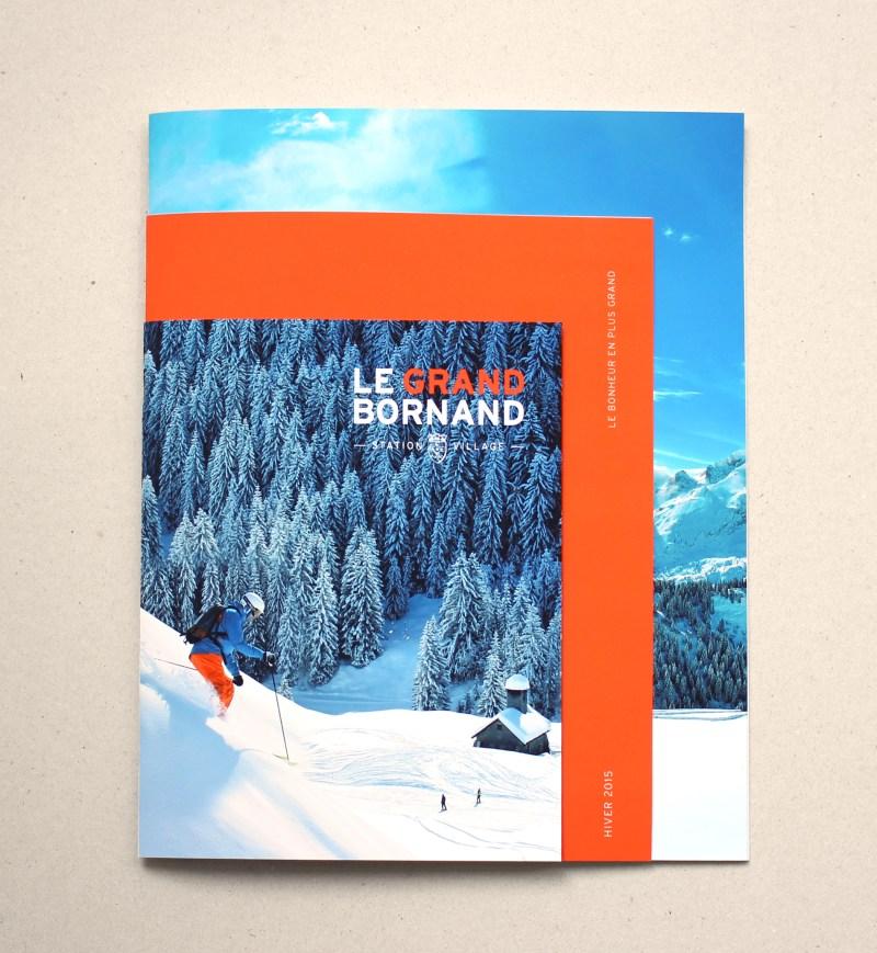 brochure sport d'hiver station de ski