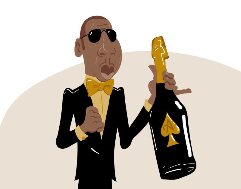 JayZ_aceofspades_champagne_caricature