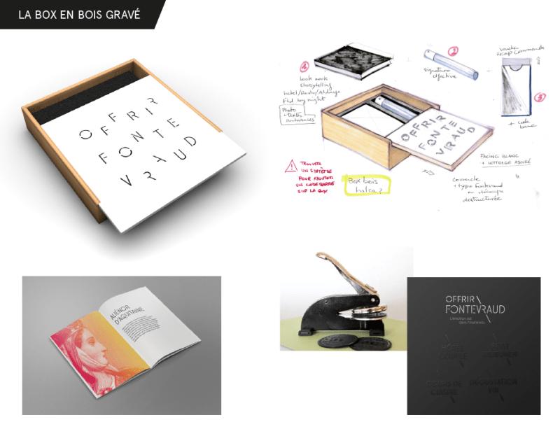 Boîte en bois avec couvercle coulissant, texte gravé au laser ou sérigraphié en noir. Ces boîtes sont en effet fabriquées avec un bois très léger type pin.