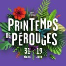 Affiches du Printemps de Pérouges en paper-art