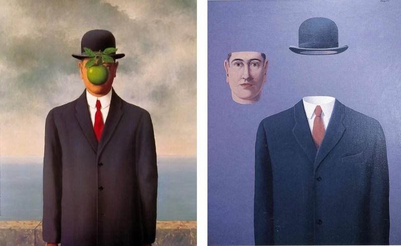 homme-sans-visage-magritte