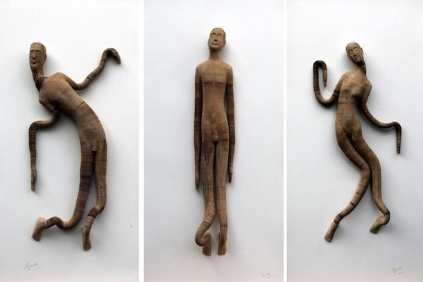 sculptures-papier