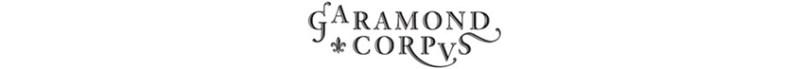 Garamond-Corpvs
