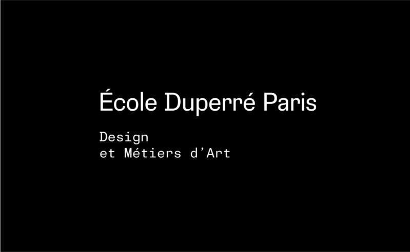 L'école Duperré change d'identité visuelle