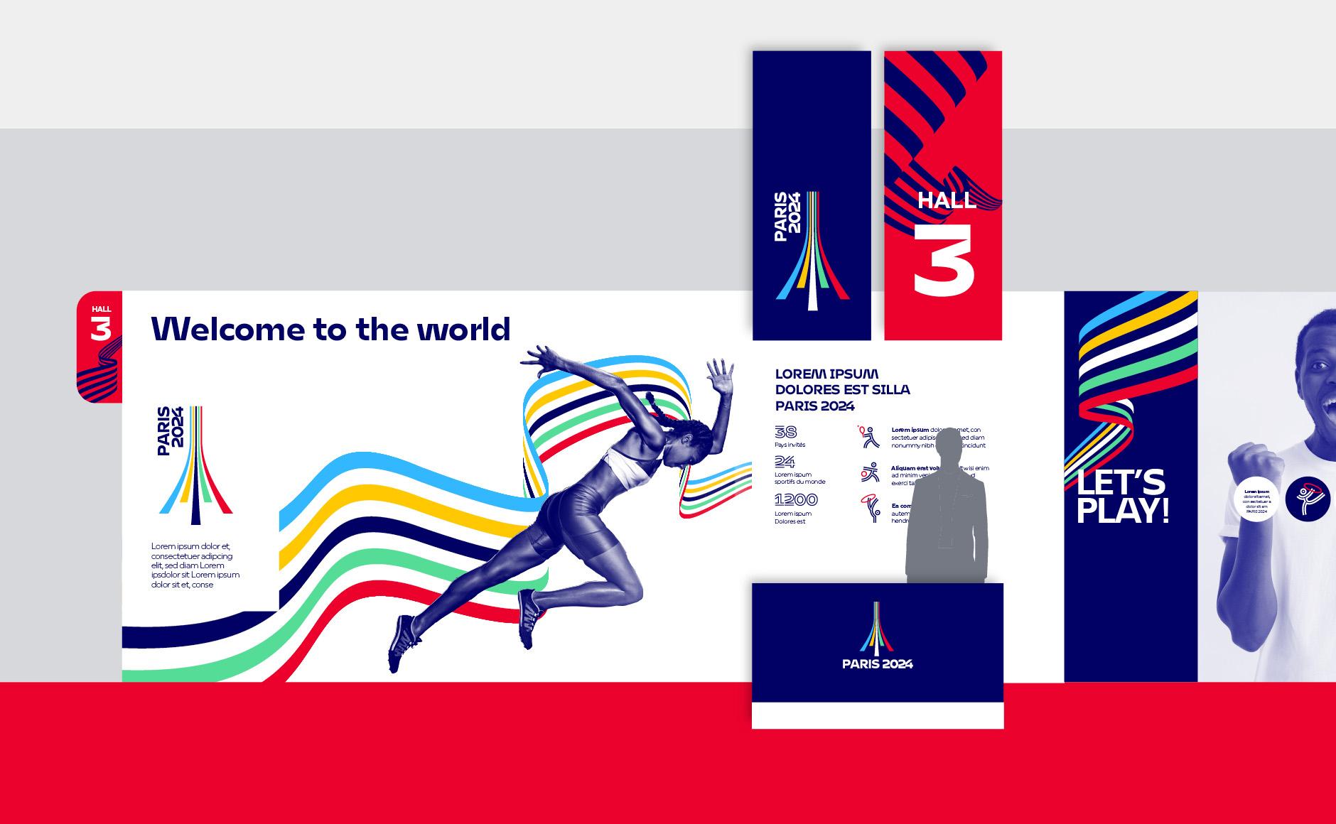 stand Jeux Olympiques Paris 2024