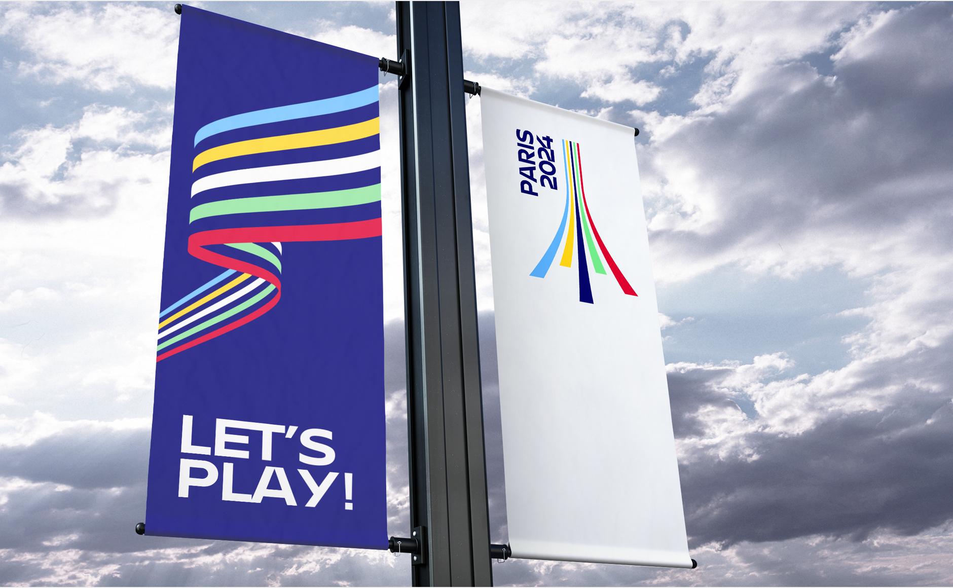 kakemono jeux olympique Graphéine