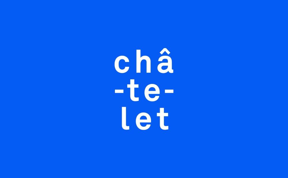 identité visuelle du Théâtre du Châtelet