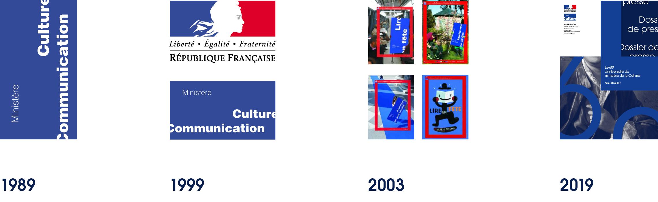 historique logo charte graphique ministère de la culture