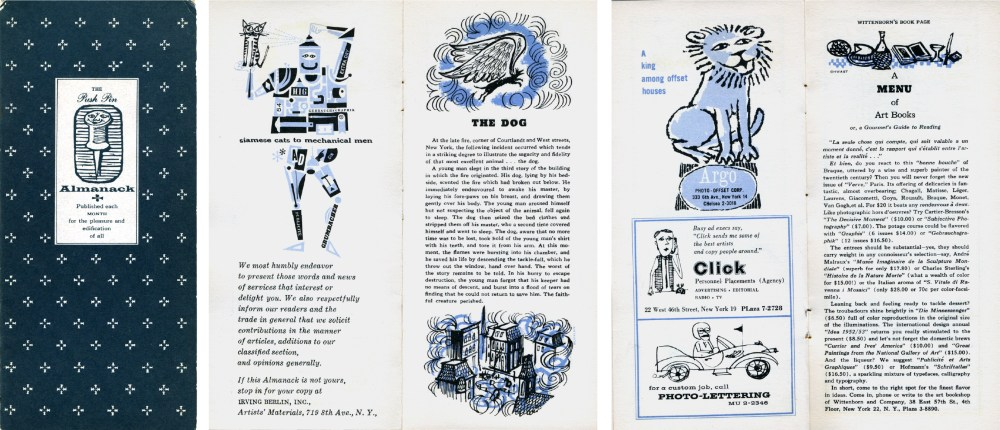Push pin studios almanacks