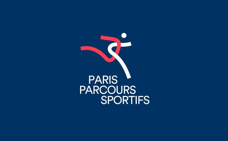 Parcours sportifs parisiens identité visuelle