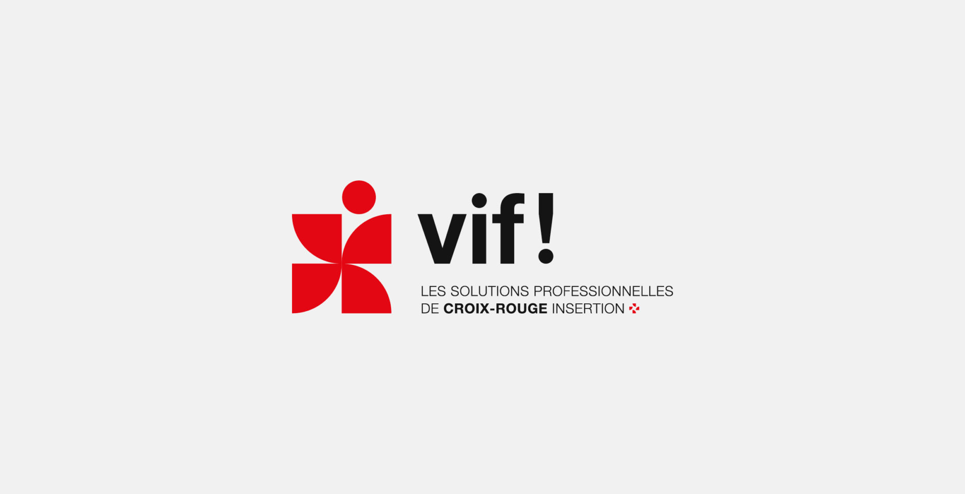 Vif logo croix-rouge insertion