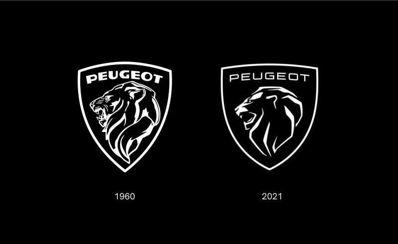New logo peugeot automobile