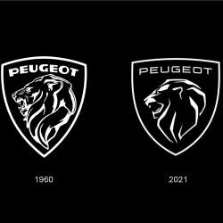 New logo peugeot automobile