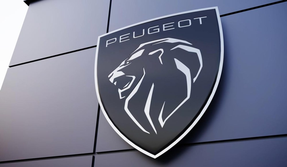logo Peugeot façade