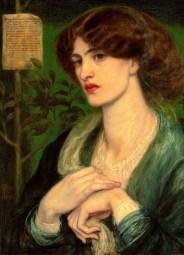 Dante Gabriel Rossetti- The Salutation of Beatrice, 1869