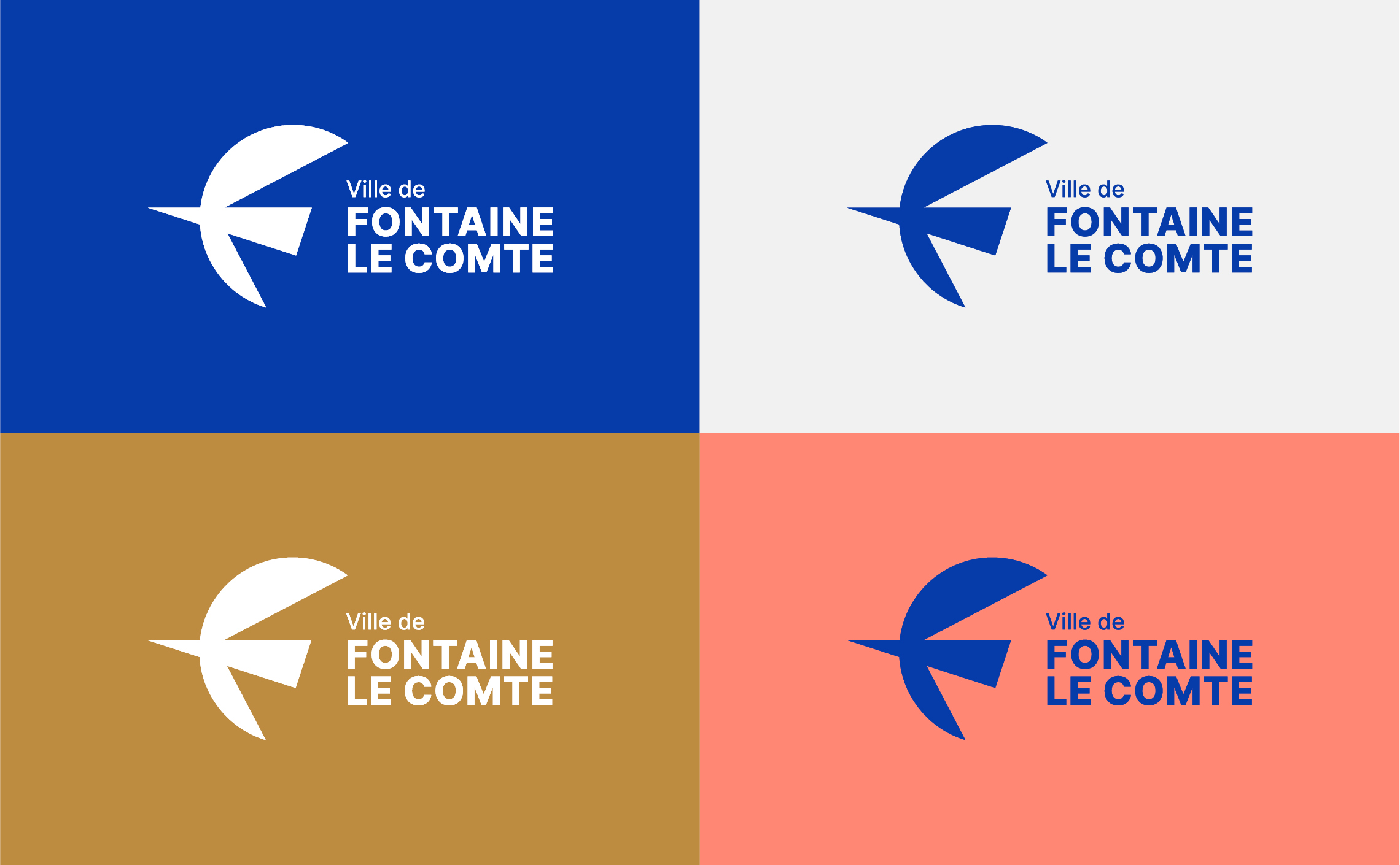 couleur logo ville fontaine