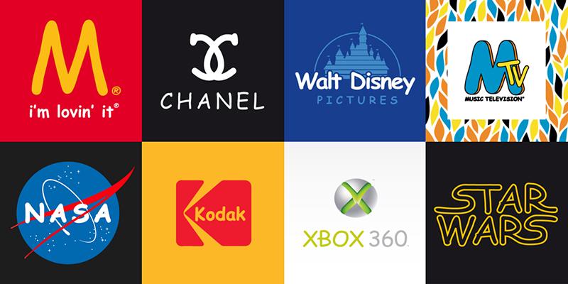 logo connus en comic sans