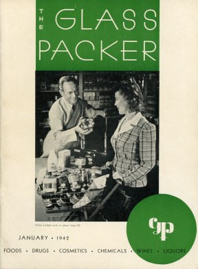 Glass Packer Magazine 1942 January 01