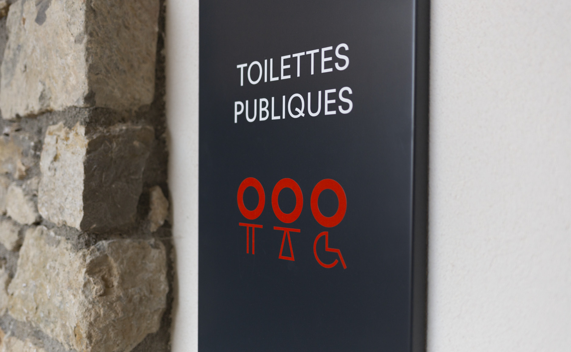 pictogrammes toilettes design