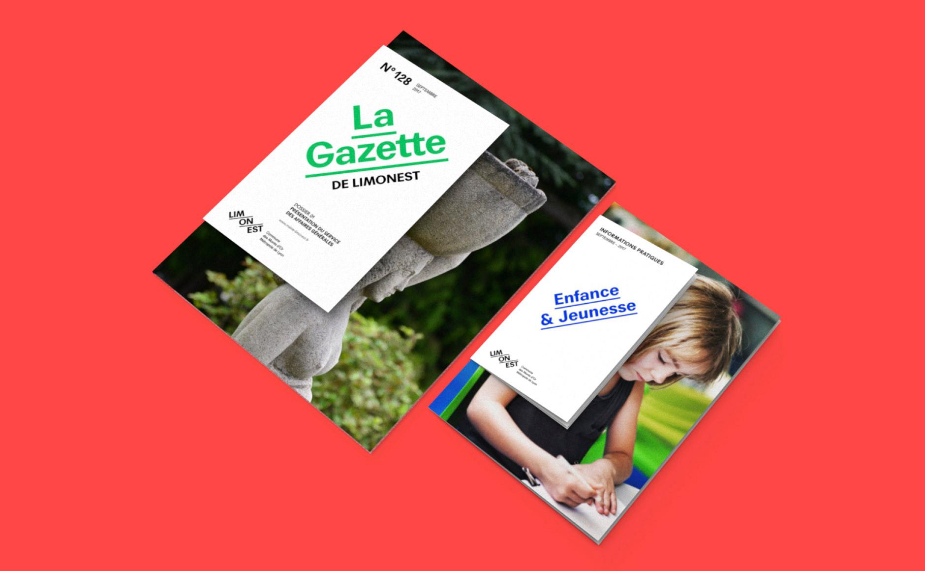 Magazine municipal ville de Limonest