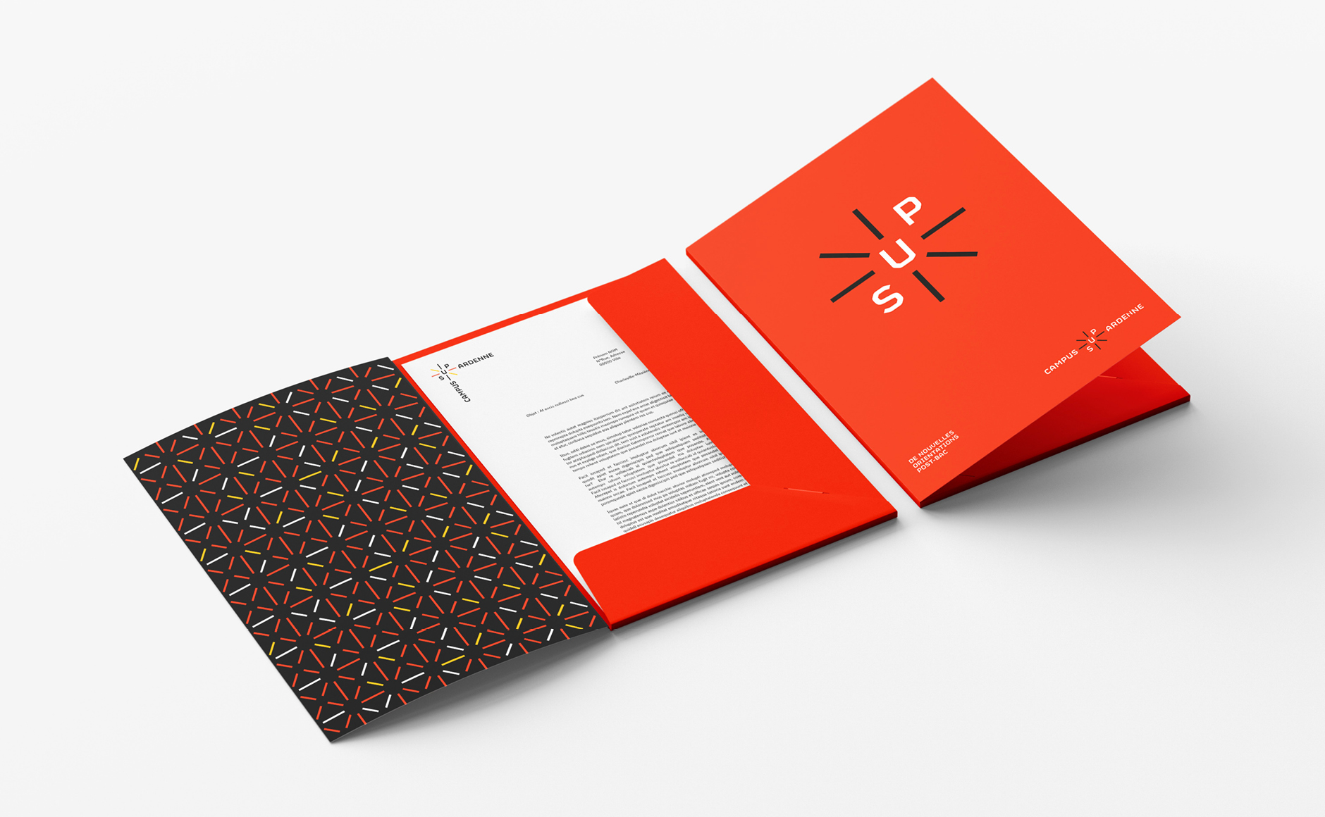 pochette A4 branding