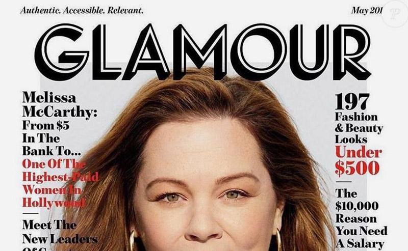 nouveau logo magazine glamour