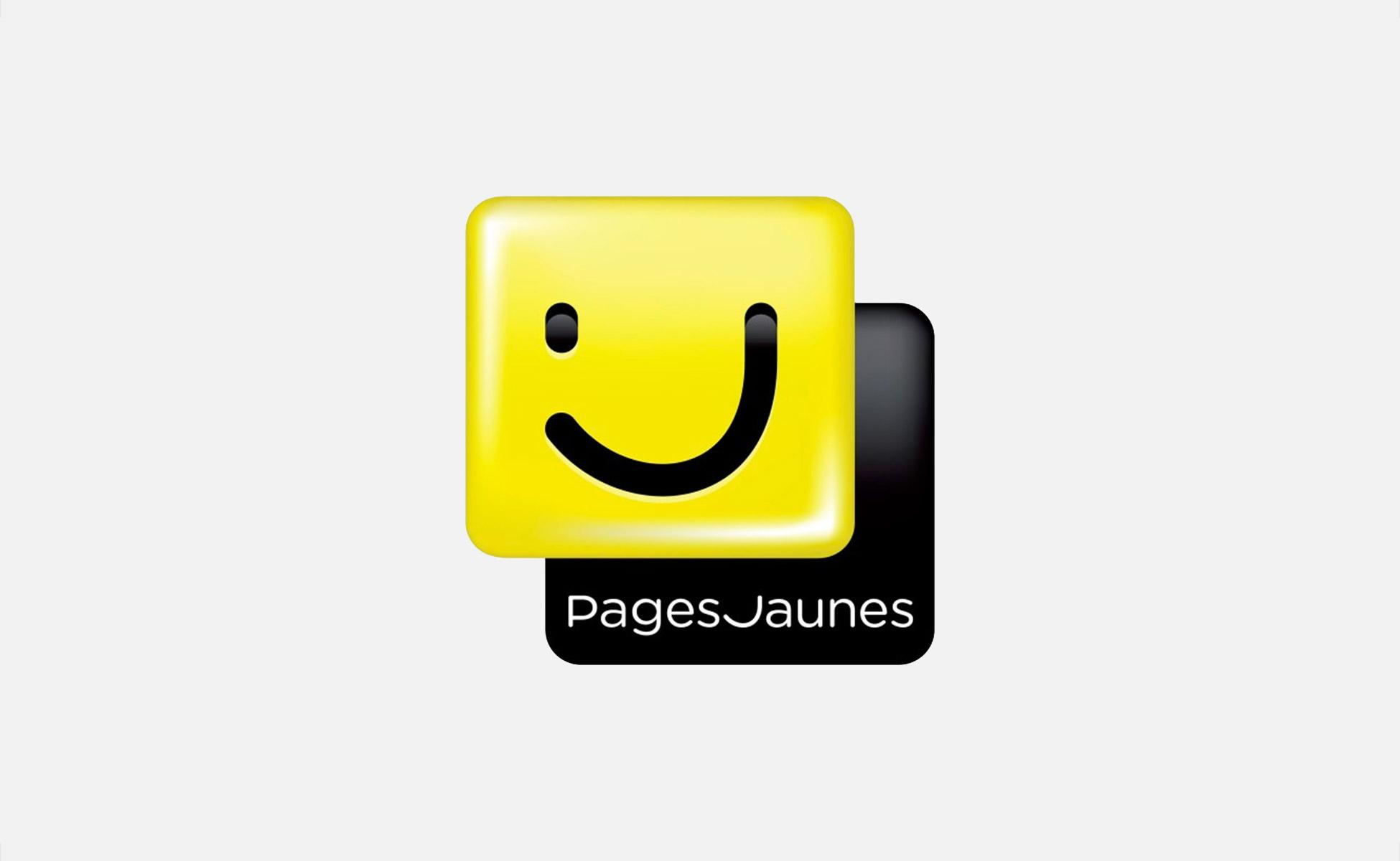 nouveau sourire pour le logo des pages jaunes graph ine. Black Bedroom Furniture Sets. Home Design Ideas