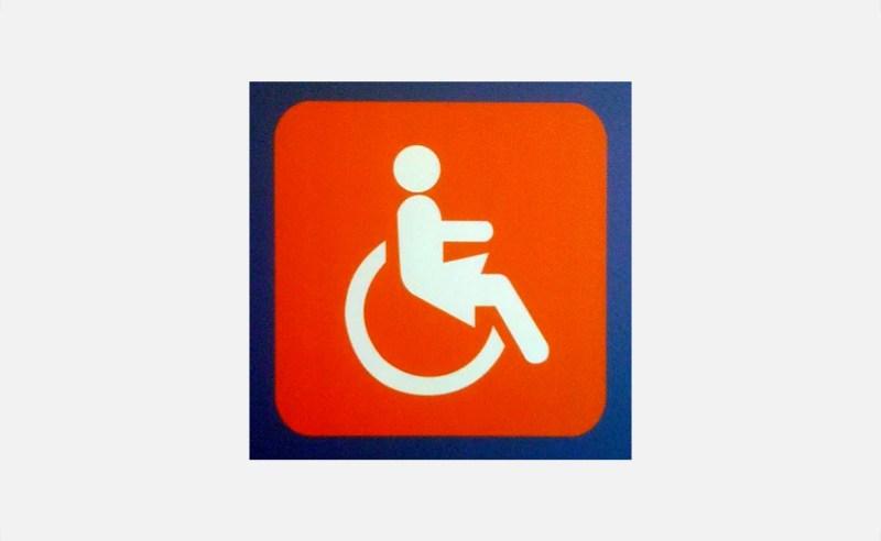 Un pictogramme «Handicapée» au féminin…