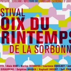 festival voix du printemps affiche typographie graphisme