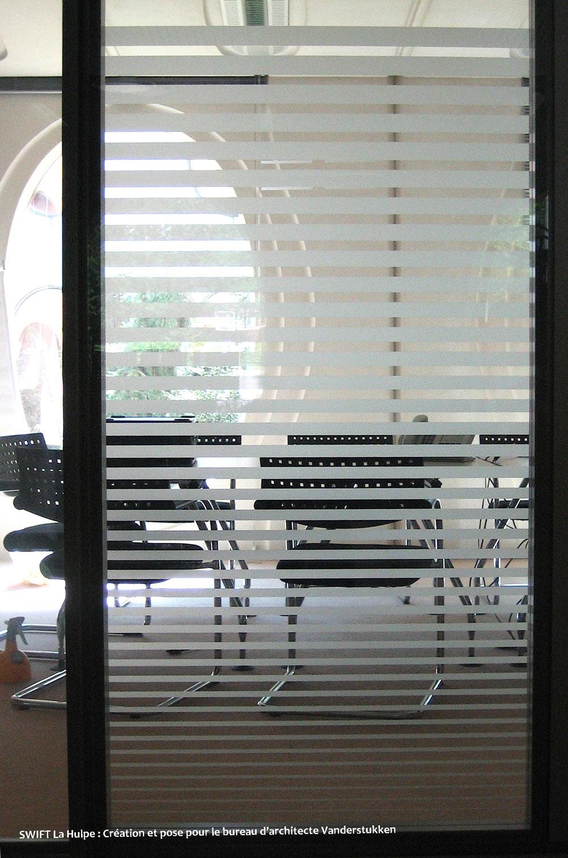effet sablage pour vitres bruxelles
