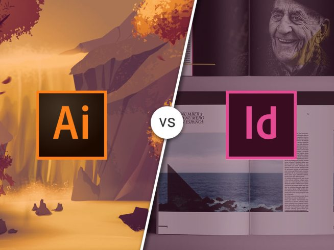 Differences between Adobe Illustrator and InDesign