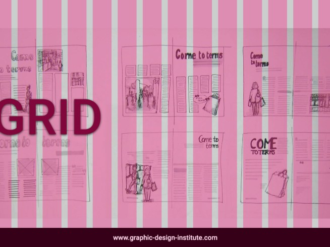 types of grid system useful for layout making