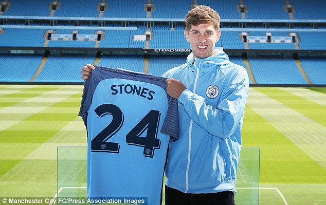 John Stones joins Manchester City in £47.5m deal - Graphic Online