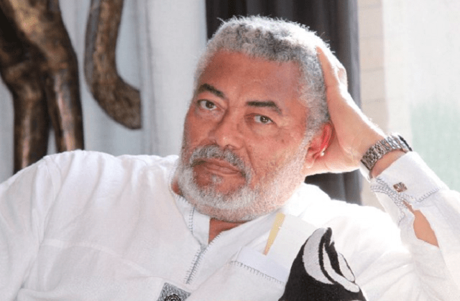 Did Jerry Rawlings really cry that day? - Graphic Online