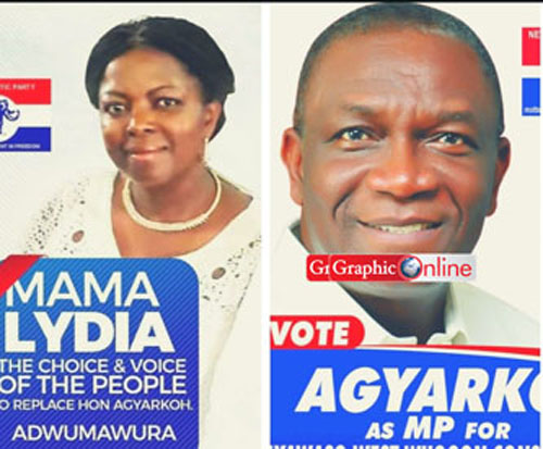 Lydia Alhassan to replace Agyarko in Ayawaso-West Wuogon by-election