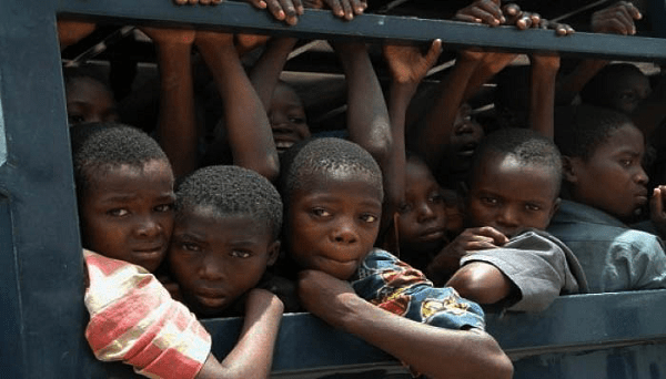 Image result for Children  Rescued From Traffickers
