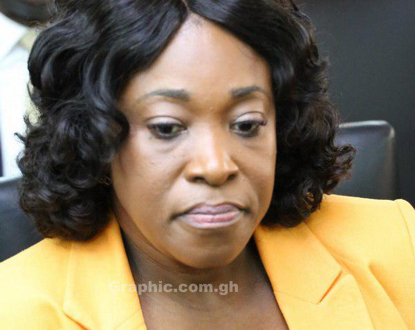 Minister of Foreign Affairs, Ms Shirley Ayorkor Botchwey