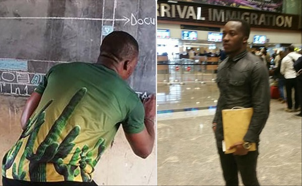 Richard Akoto Appiah - known as Owura Kwadwo Hottish on Facebook