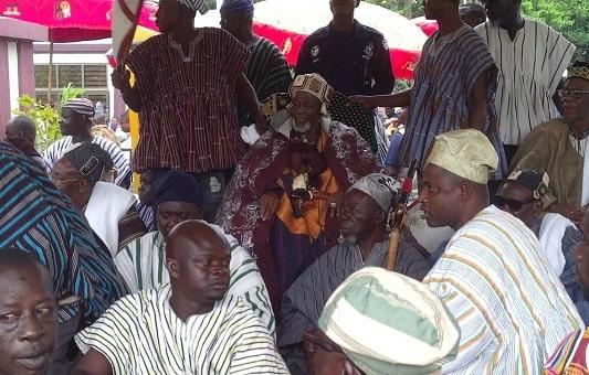 Yaa Naa Abukari Mahama II at the Manhyia Palace